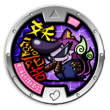 Baddinyan Medal Yo Kai Watch Wiki Yokai Watch Fans